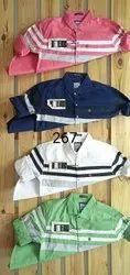 F20 Printed Cotton Casual Shirt