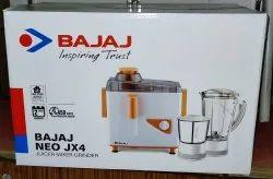 Neo Jx4 450 Juicer Mixer Grinder, For Home, Capacity: 2 Jars