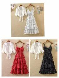 American Crepe Fabric Regular Fit Fancy Dress Shirt, Size: Free Size