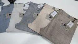 Formal Mens Linen Cotton Pant