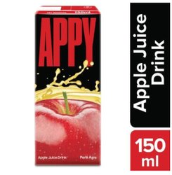 Parle Agro Soft Drink Appy Fizzy 150 Ml Tetra 40 Pcs Pack, Liquid