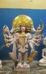 Marble Punchmukhi Hanuman