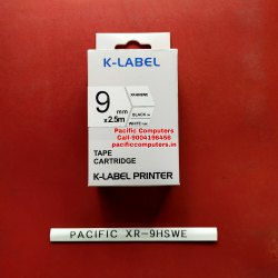 CASIO XR-9HSWE 9MM Heat Shrink Compatible Tube