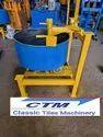 Colour Pan Mixer Machine