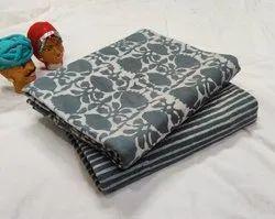 Hand Block printed Pure cotton fabric.