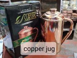 Himanshu Golden Designer Copper Jug, For Home, Capacity: 1.5 Litre