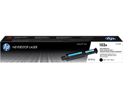 HP 103AD Dual Pack Toner Kit, Black, W1103AD