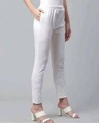 Cotton Chikan Pants