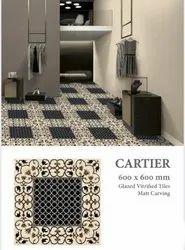 Beige Designer Tile, For Flooring