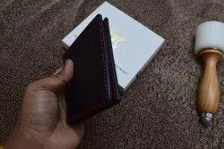 Male Bi Fold Handmade Leather Wallets