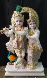 Marble radha. Krishna jugal joudi. Statu