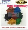 Paver Block Making Red Iron Oxide