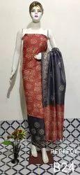 Cotton Dopian Batic Print Suits