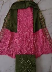Bandhej Dress Material