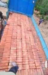 Rectangular Red Bricks, Size: 9*4*3