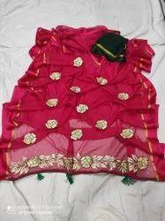 Pure Chiffon Najmin Beautiful Sarees