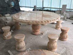 Stone Tea Table