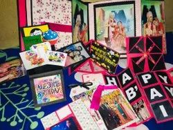 Cardstock Handmade Scrapbook Album, For Home Use,Especially For Gifts