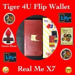 Leather Mobile Flip Cover For Realme X7