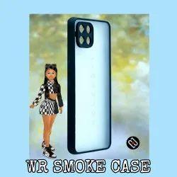 Plastic Black WR SMOKE CASE MOBILE COVER