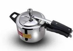 Carnival 5 ltr steel Regular pressure cooker, For Hotel/Restaurant