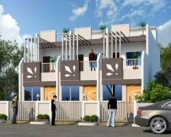 Residential RCC Building Row Houses Project 3bhk, in Aurangabad