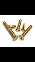 CSK Mild Steel M.S Machine Screws Upto 6