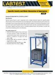 Density Of Fresh and Hardened Concrete Testing Machine