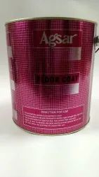 4 lt printed paint tin container