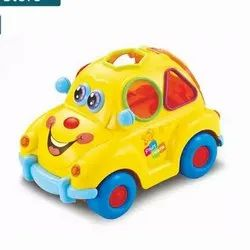 Plastic Toy Car, No. Of Wheel: 4