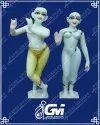 Iscon radha krishna marble moorti