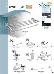 Crome Stainless Steel Bath Set, Size: Adjustable