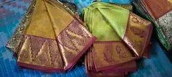 Festive Wear Silk Saree, 6.3 m (with blouse piece)