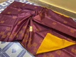 Tussar Ghicha Silk Weaving Sarees