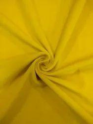 100 % polyester Yellow Velvet Upholstery Fabric
