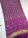 Pure Gajji Silk Saree