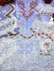 Pakistani Formal Wear Cotton Embroidery Suit