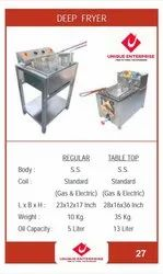 Deep Fryer And Display Counter