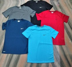 Lycra Black Nike T Shirt