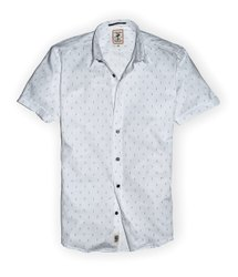 Mark Me Printed Shirts Half Sleeve Slim Fit, Wash Care: Machine Wash