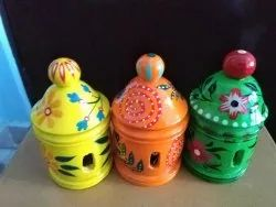 Wooden Hand- Painted Perfume Diffuser