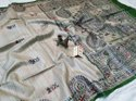 Tussar Ghicha Silk Hand Block Printed Sarees
