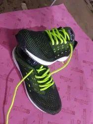 Deccap Black Mens Designer Running Shoes, Size: 6 to 10