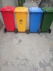 Nilkamal Wheel Garbage Waste Dustbin