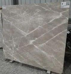 Slab Gray Karaman Grey Marble, For Flooring, Thickness: 15-20 mm