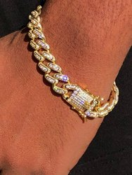 Stylish Gold Bracelet