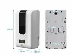 Automatic Sanitizer Dispenser Cum Thermal Scanner