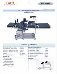 C Arm Operation Table