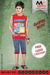 Boy Kids Capri Suit