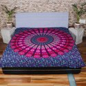 Multicolor mandala Bedsheet and Tapestry